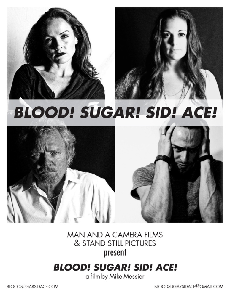 Mike Messier's Film Poster for Blood! Sugar! Sid! Ace!