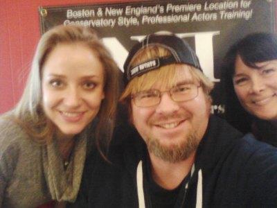 Erica Derrickson, Mike Messier and Carlyne Fournier