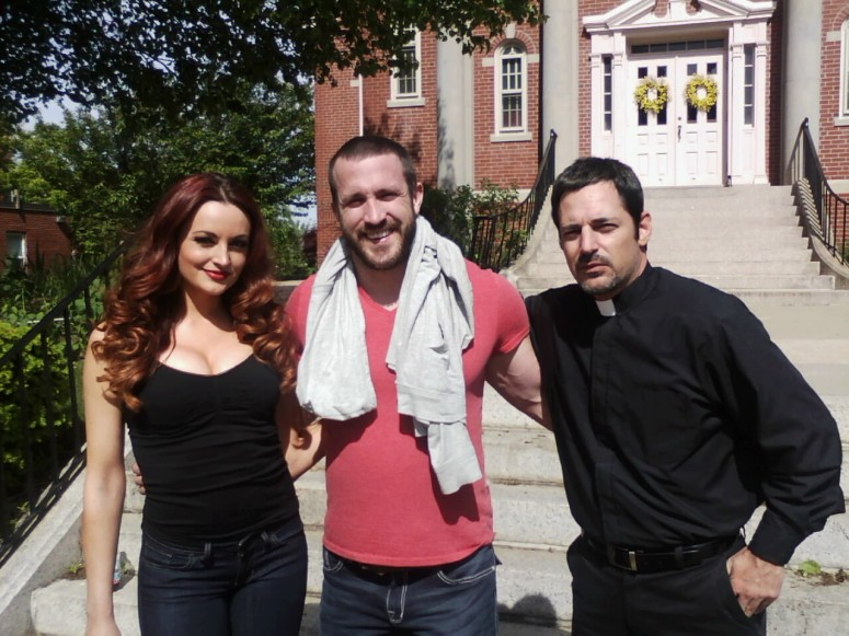 Maria Kanellis, Mike Bennett and David Gere photo: Mike Messier