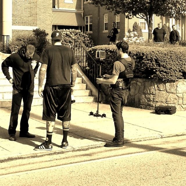 on the set of Penance