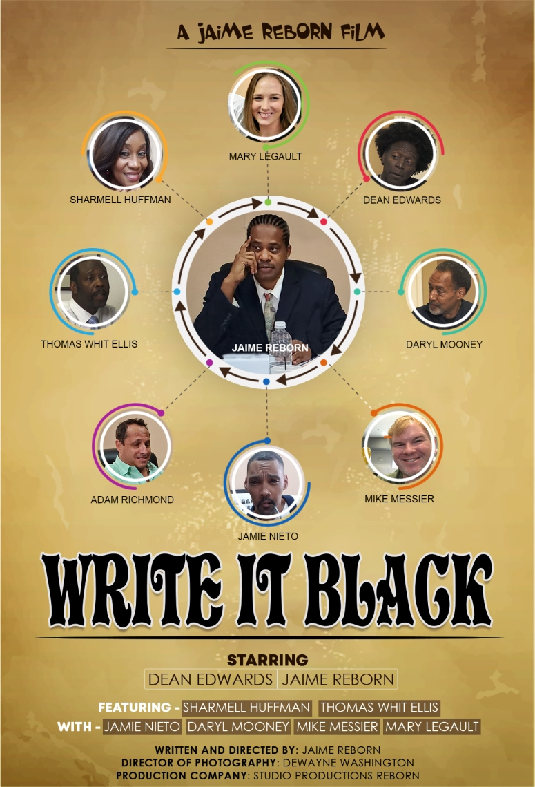 Write It Black - Large Poster - Best Version